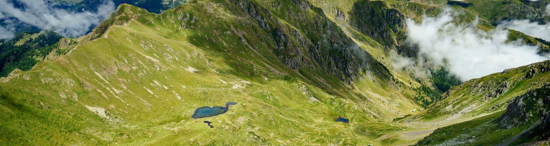 Passo Vezzena e catena del Lagorai